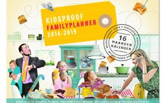 WINACTIE: Kidsproof Familyplanner 2014-2015