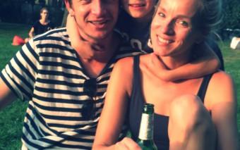 Berlijn: bockworsten, Becks en blije kids!