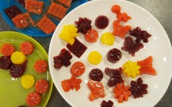 Zelf maken: gezonde fruitsnoepjes.