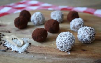 Recept voor truffels. Deze zijn zalig en koolhydraatarm!