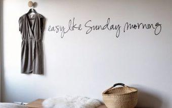 Hoezo een 'relaxte' zondagochtend?
