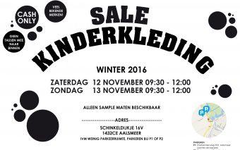 Sample Sale kinderkleding