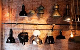 Vintage meets industrial bij Brût Amsterdam