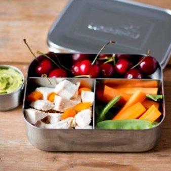 RVS lunchbox van Green Jump. BPA vrij!