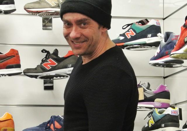 Voor mooie sneakers moet je bij Jerom van 2 The Max zijn