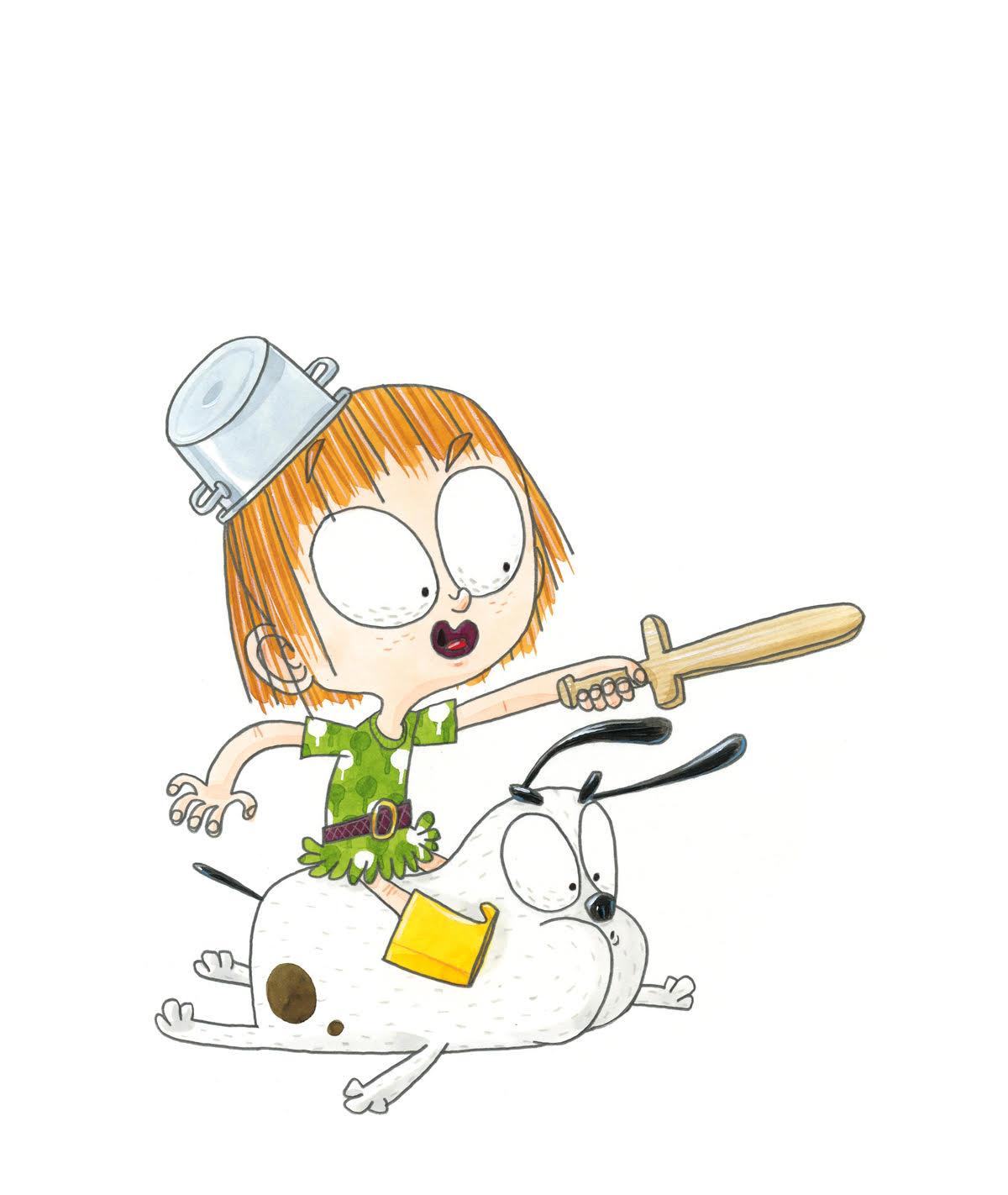 De illustraties in kinderboek Suzie Ruzie zijn geniaal!