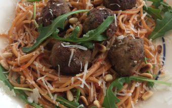 Recept voor heerlijke pastasaus met meatballs