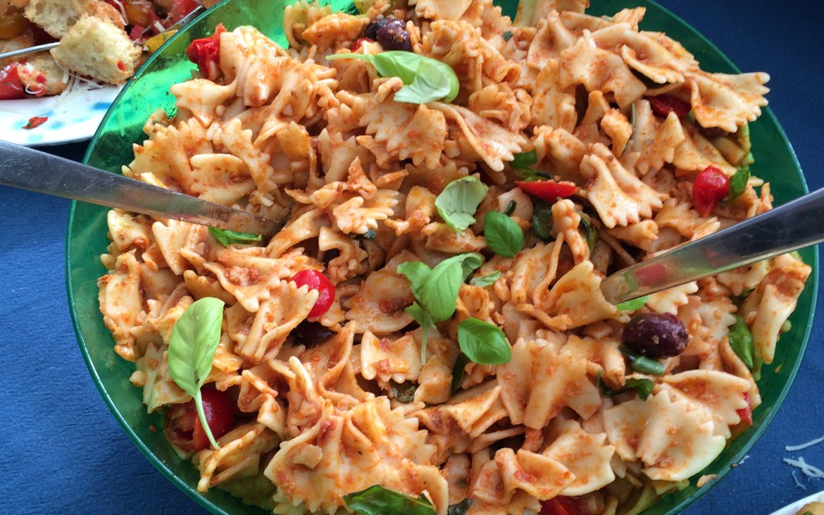 Lekkere pastasalade voor een perfecte verjaardag!