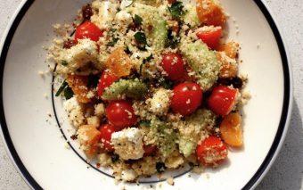 Recept voor snelle en healthy couscoussalade.