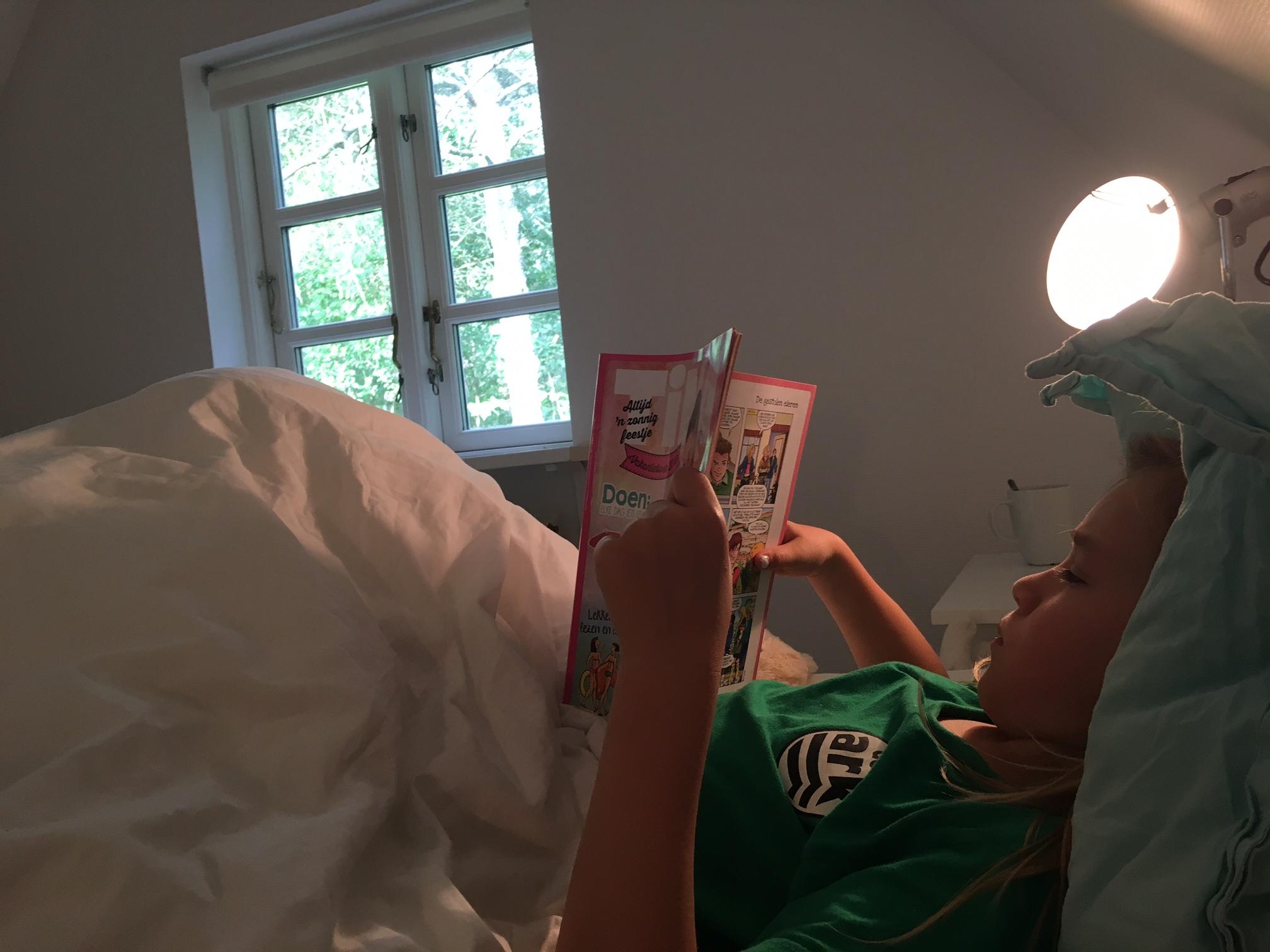 Lekker lui lezen in bed