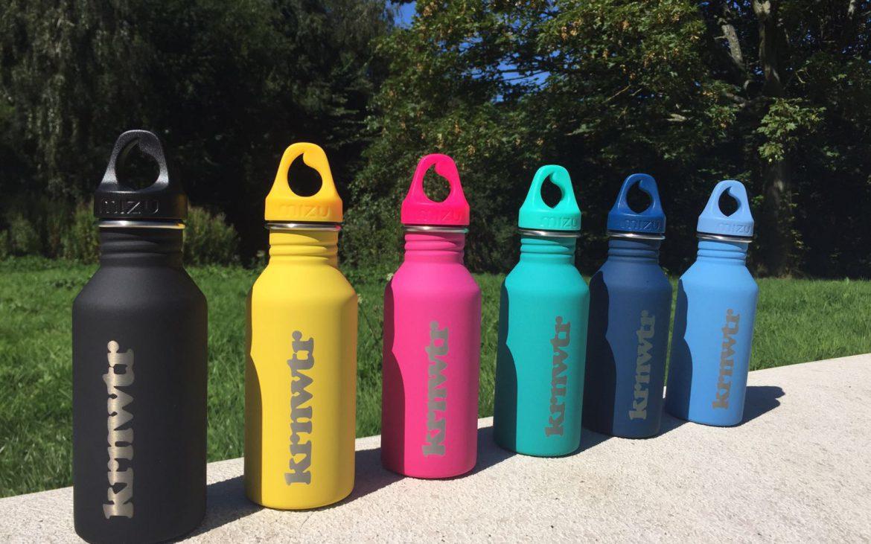 Win een van deze gave waterflessen van KRNWTR