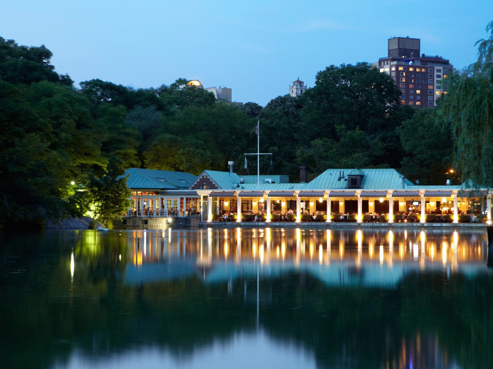 The Loeb Boathouse, New York