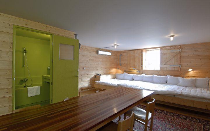 5 sterrenkamer met zevenpersoonsbed