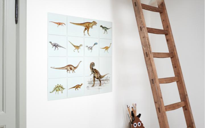 Inspiratie kinderkamer: IXXI Dino collectie
