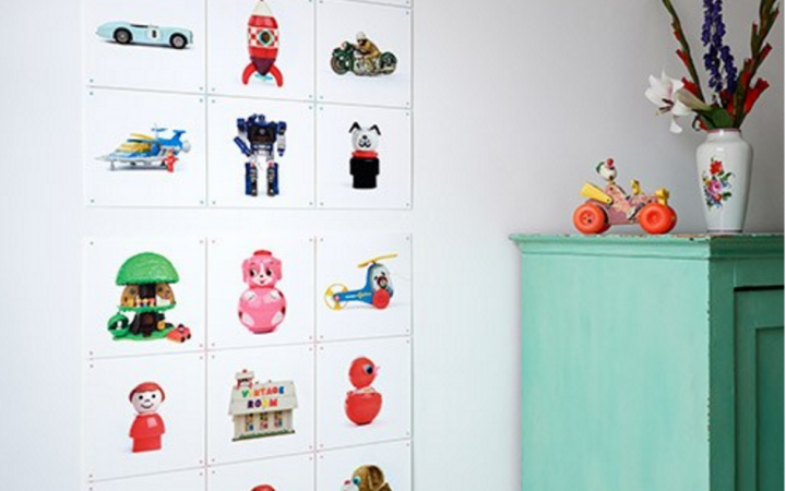 Kinderkamer, Vintage Room collectie van IXXI