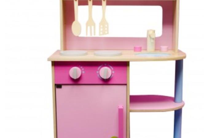 Lief houten speelgoedkeuken