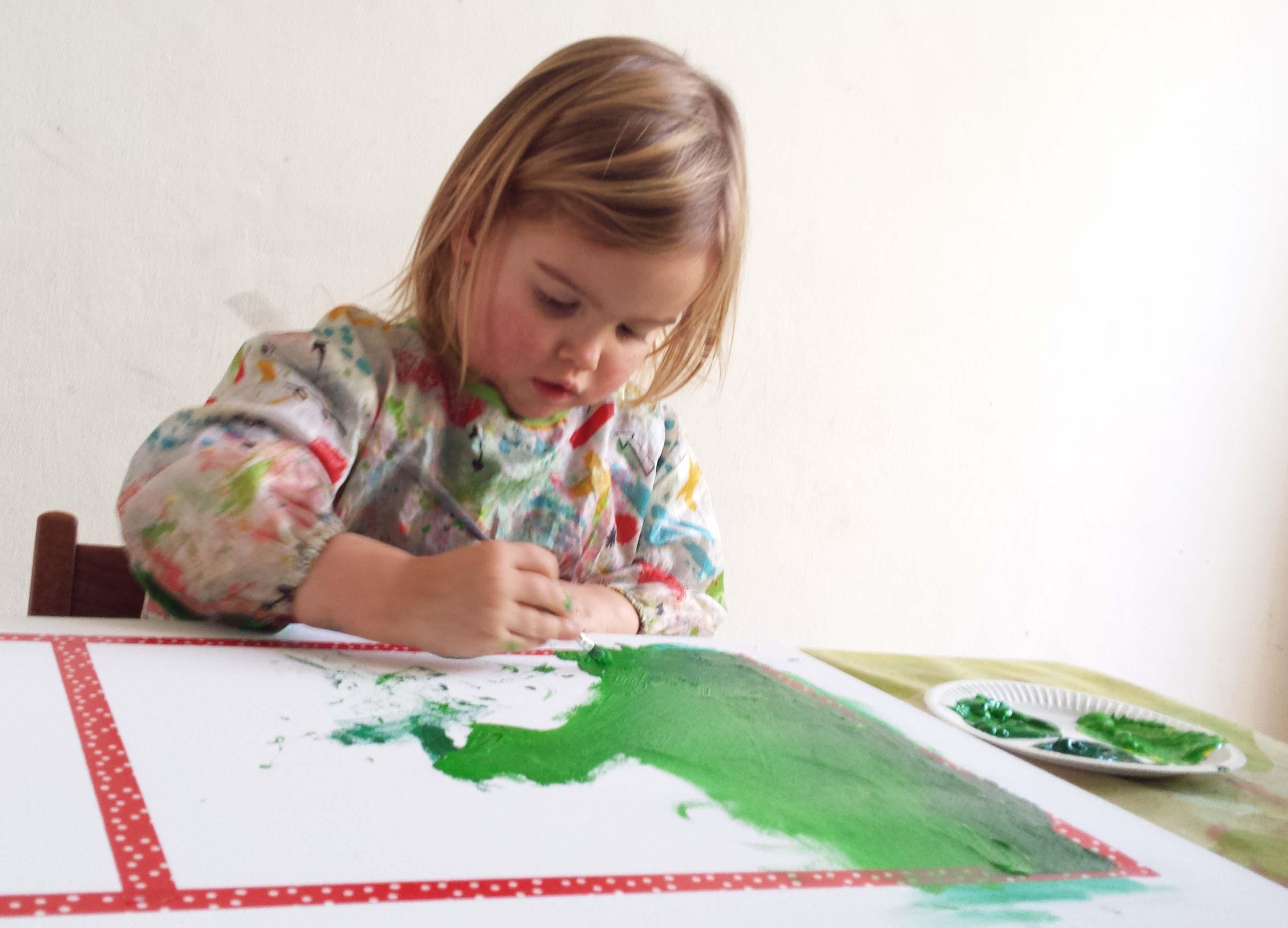 imme schilderij maken