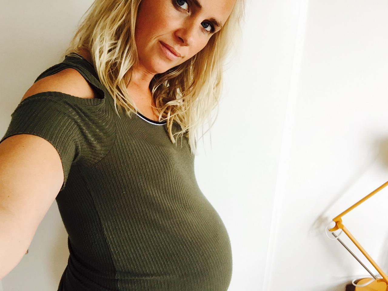 De laatste loodjes: 38 weken zwanger.
