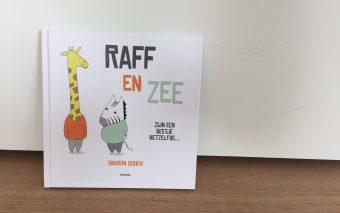 Winnen: nieuw prentenboek 'Raff en Zee – zijn een beetje hetzelfde'.