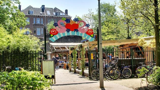 Negen restaurants met speeltuin in Amsterdam.