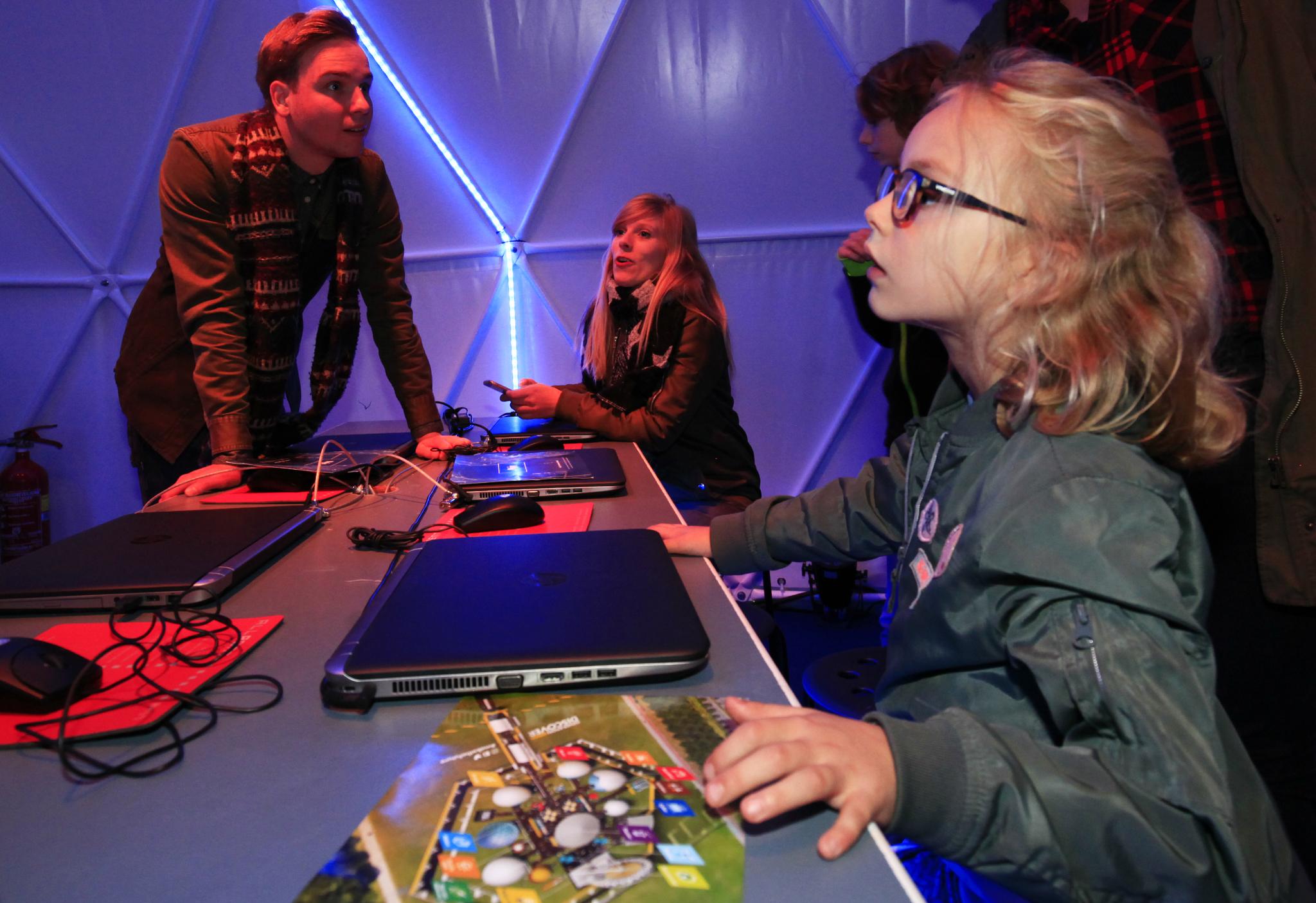 Wetenschap en techniek op het Generation Discover Festival.