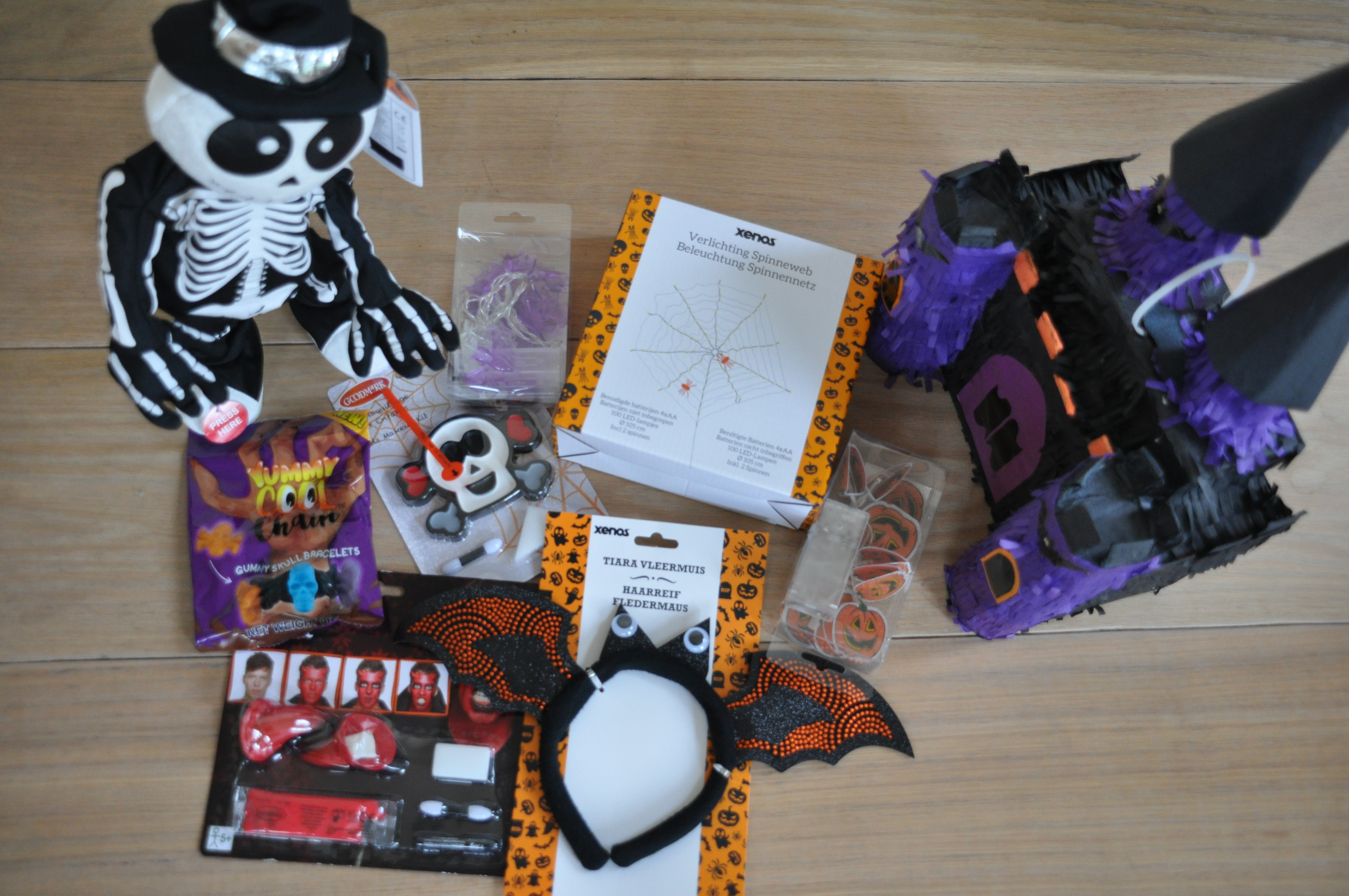 Alles voor een tóp Halloween en Sint Maarten.