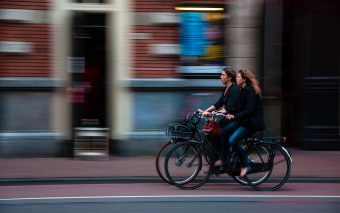 Een boodschap aan alle gekken op fietsen.