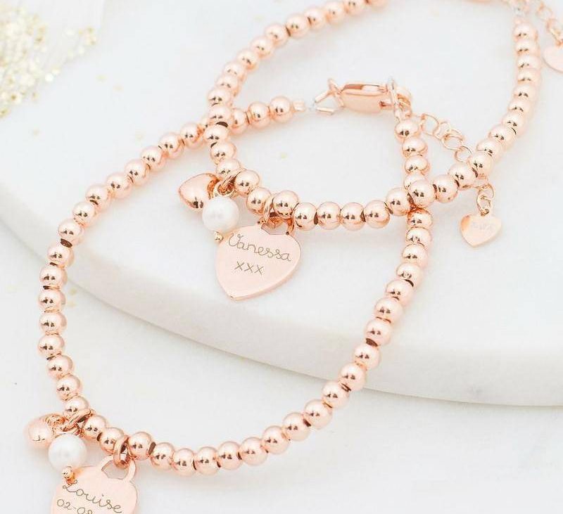 Bijzondere sieraden voor jou en je mini-meisje óf -jongen.