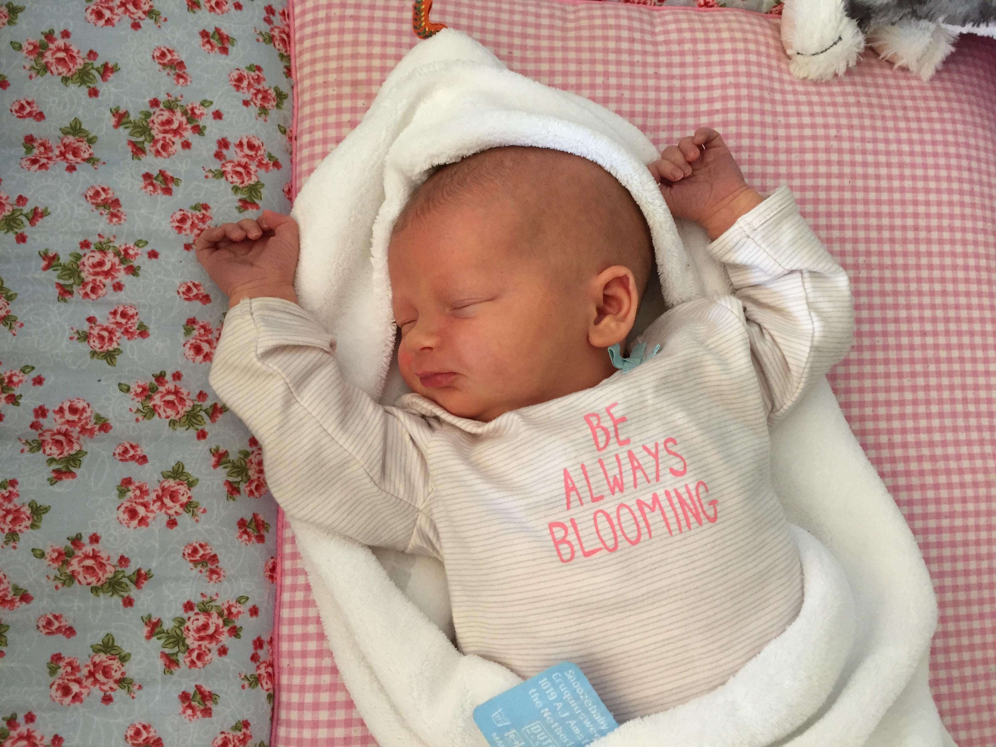 Geboorte Fehla, derde kindje