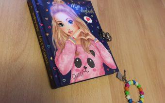 Als je nog samen in haar dagboek mag schrijven.