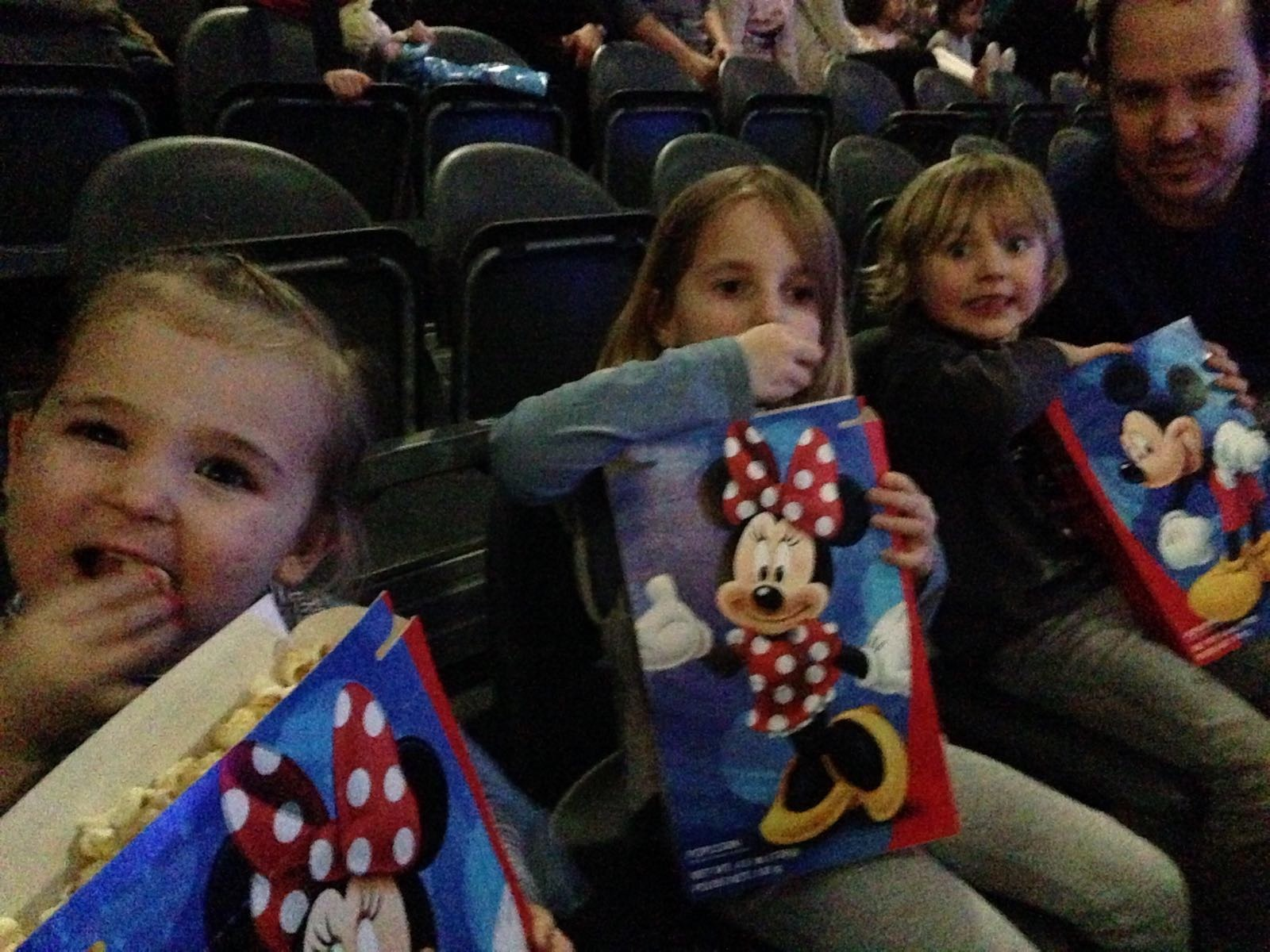 Popcorn bij Disney on Ice