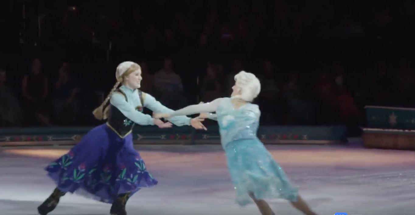 Review van een magische avond: schaatsende Disney helden op het ijs!