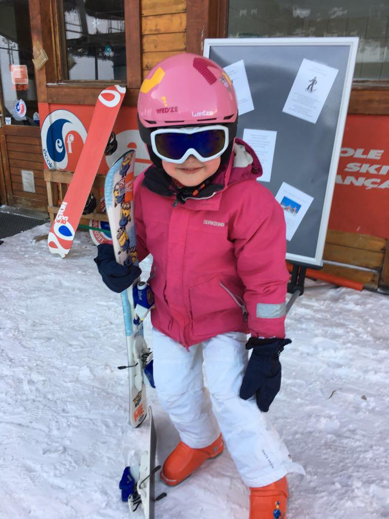 Op ski-vakantie met een kind versus vroeger.