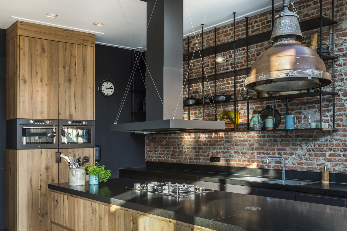 Chique Industriele Keuken : Inspiratie en keukentrends mamaschrijft