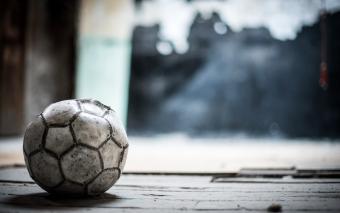 Voetbalmoeders en -vaders.