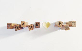 Bedankt lieve mensen, voor deze mooie dag!