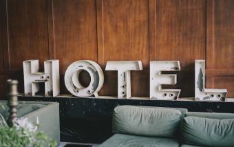 Het is geen hotel hier!