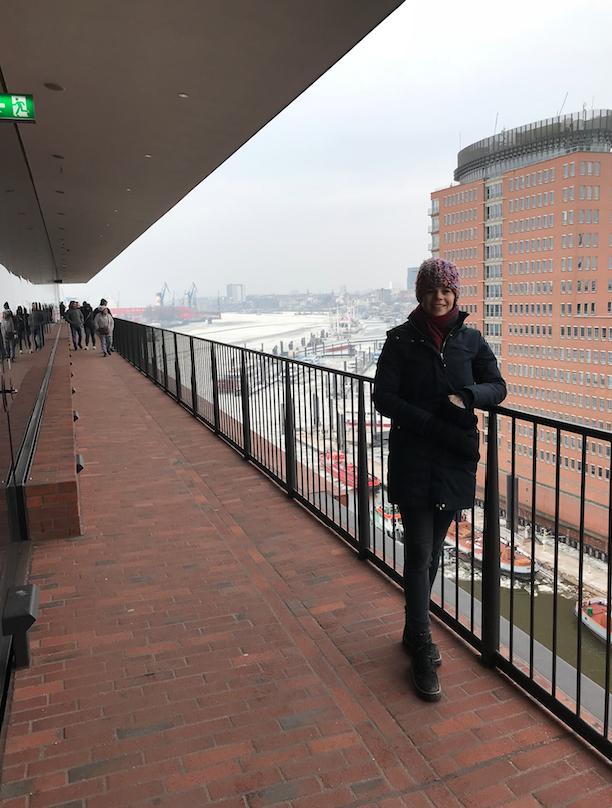 Uitzicht vanafEphilharmonie- Hamburg