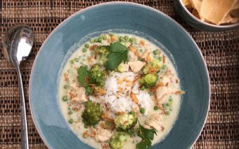 Recept: romige Thaise kippensoep voor het hele gezin (Tom ka kai).