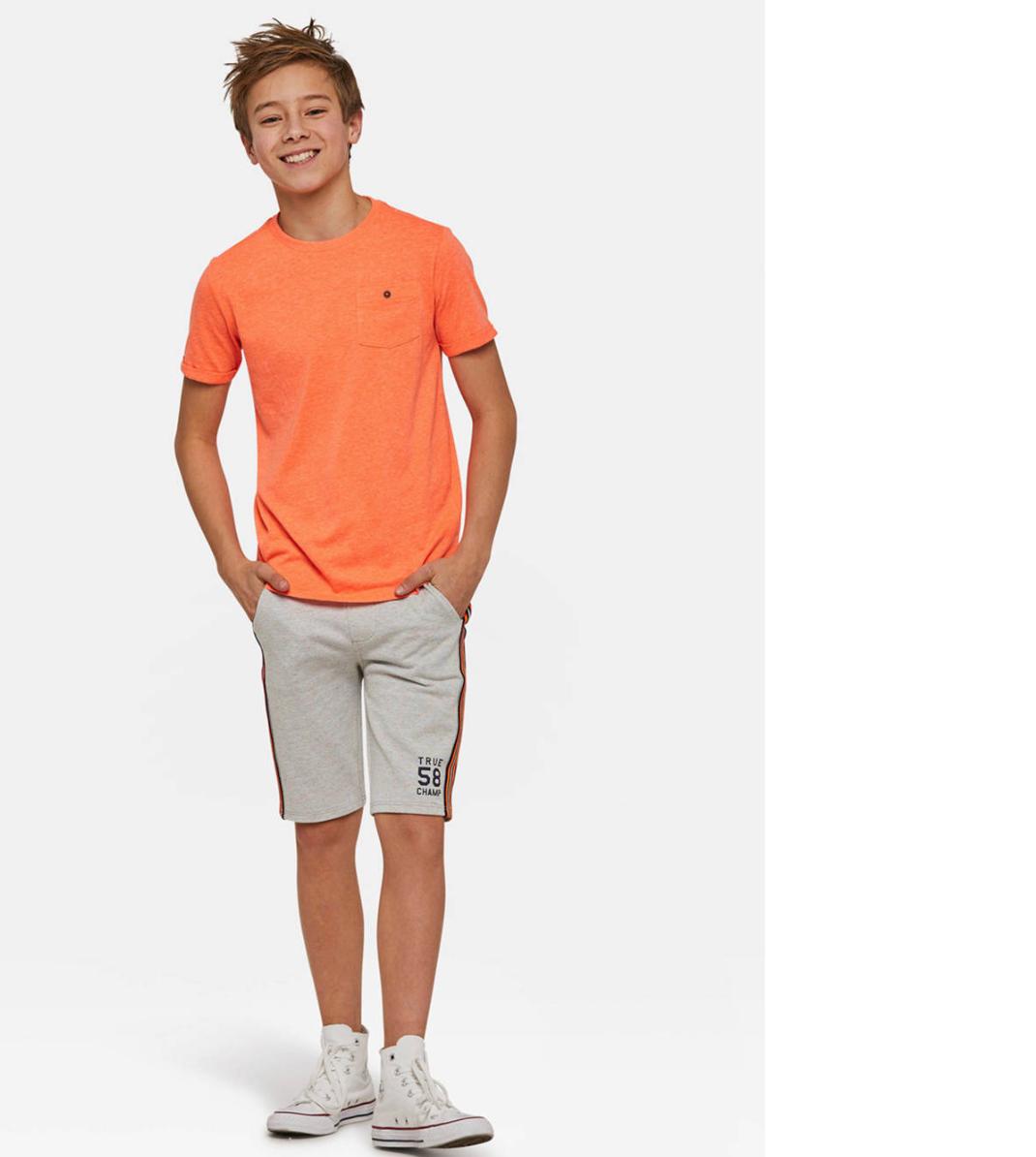 Oranje t-shirt jongen voor koningsdag