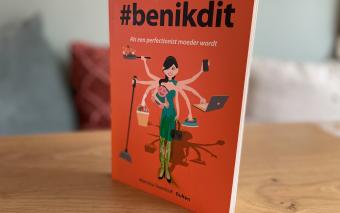 #benikdit: een boek over het niet-roze wolk gevoel na de bevalling.